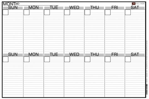 4 week schedule template printable 4 week calendar printable 360 degree