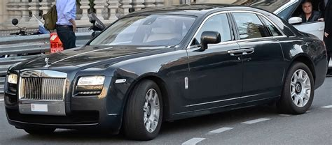 rolls rise car rolls royce ghost