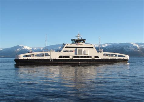 ferry electric the first electric car ferry in the world starts work