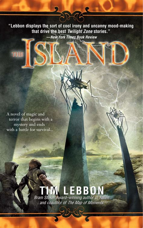 the island picture book books tim lebbon horror and author