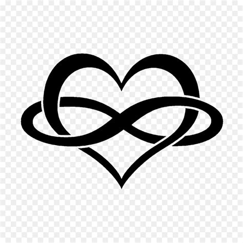 infinity symbol heart tattoo persevere png