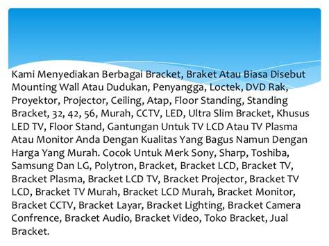 Dudukan Stand Rdartarbaatomizerrdtatank Murah Bandung 0896 7100 0771 harga bracket standing tv lcd bandung