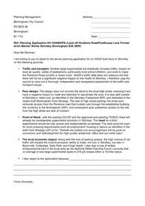 Variance Request Letter Sle Objection Letter Template Stirchley