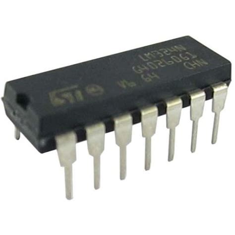 integrated circuit lm324 lm324 operational lifiers buy in india robomart