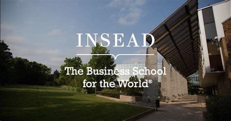 Mba Cars Fontainebleau by Insead Mba Scholarships Youth