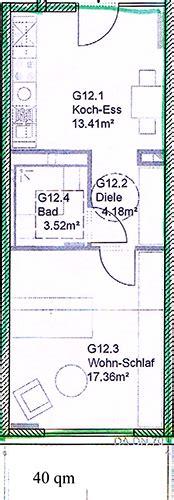 wohnung 40 qm wohnprojekt 4 grundrisse f 246 rderverein nachbarschaftlich