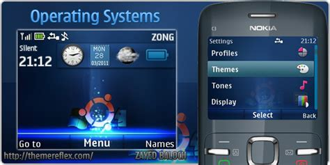 live themes c3 operating systems live theme for nokia c3 x2 01 updated