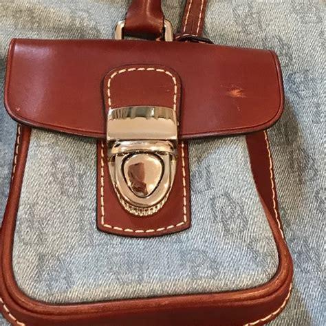 Gucci Backpack 8908 40 2810 86 dooney bourke handbags used dooney bourke jean and brown shoulder bag from m s