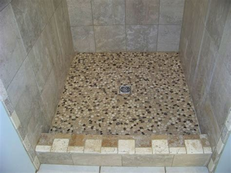 how to tile a floor how to tile a shower floor exle contemporary tile