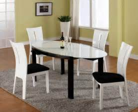 Black And White Dining Room Set Dining Room Designs Cool Black And White Contemporary