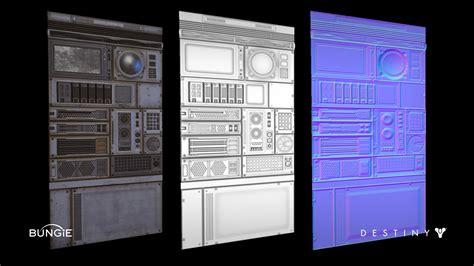 id tech 5 challenges texture artstation destiny cosmodrome tech trim texture ethan