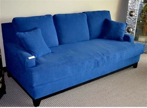 Blue Microfiber Sofa by Blue Microfiber Sleeper Sofa Eclectic Sleeper Sofas