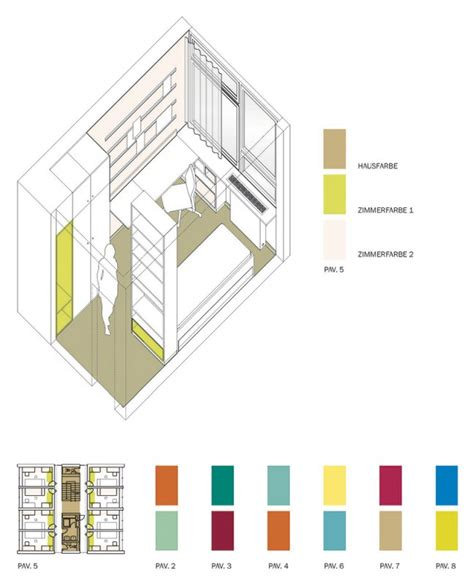 farbkonzept haus pavillons gartenwohnen haus 5 6 siegmunds hof die