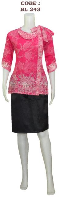 Blouse Cantik Untuk Wanita Mbm 05 blouse batik model tali bahu code bl 24 koleksi batik modern