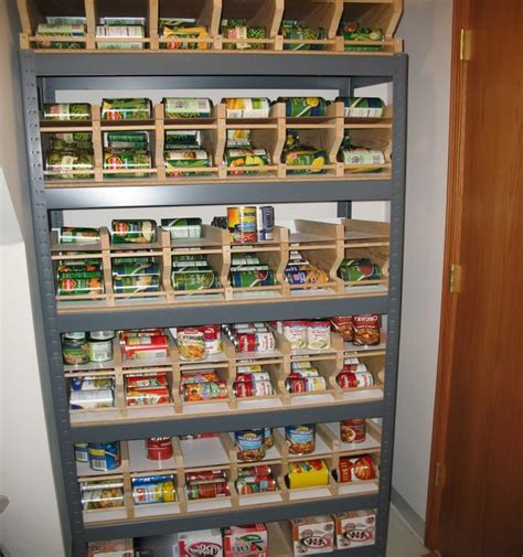 Pantry Organizers For Canned Foods by Can Racks Food Storage Best Storage Design 2017