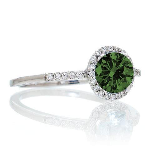 1 5 carat cut emerald halo classic