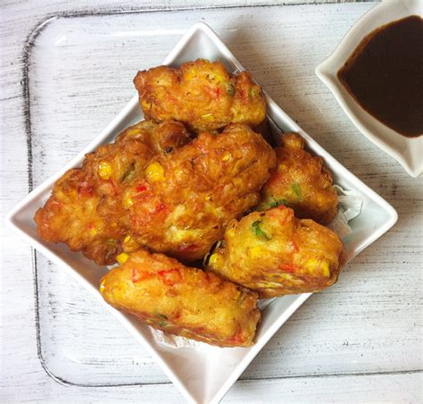 Living Room Recipes Corn Fritters Spicy Corn Fritters Recipe Dishmaps