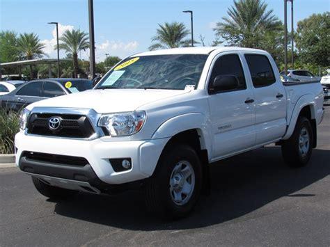 2015 Toyota Tacoma Cab Used 2015 Toyota Tacoma Prerunner V6 Crew Cab For Sale