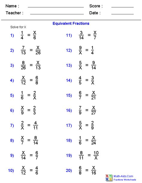 Fractions Grade 5 Worksheets by Fractions Worksheets Printable Fractions Worksheets For