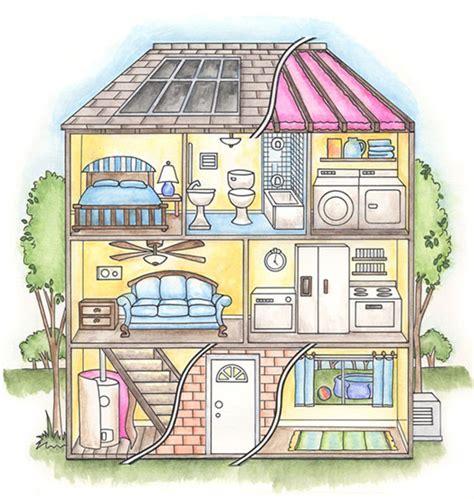 stanza da letto in inglese le stanze della casa in inglese by school