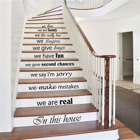 Treppen Aufkleber Vintage by Stair Decals Quotes Stairway Decals Quote Vinyl Stickers