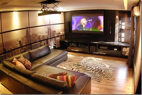 sala home cinema sala de cinema em casa veja dicas incr 237 veis para montar