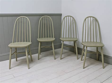 spindle back armchair set of four vintage spindle back chairs by distressed but not forsaken
