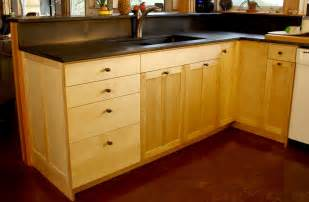 Birch Cabinets Kitchen Birch Custom Kitchen Cabinets Stauffer Woodworking