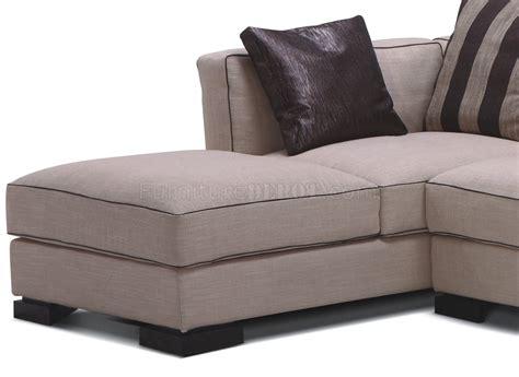 modern beige sofa beige fabric 8122 modern sectional sofa
