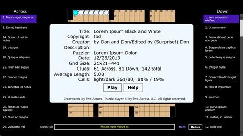 scow feature crossword clue crosswords by two across free for windows 10