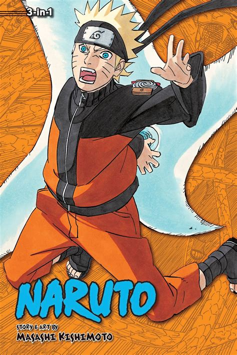 3 in 1 edition vol 1 uzumaki the worst client dreams masashi kishimoto fresh comics