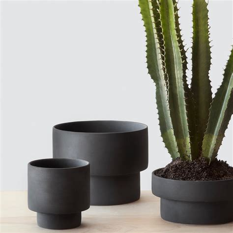 What Is Planters by Matte Black Planters Handcrafted In The Citizenry