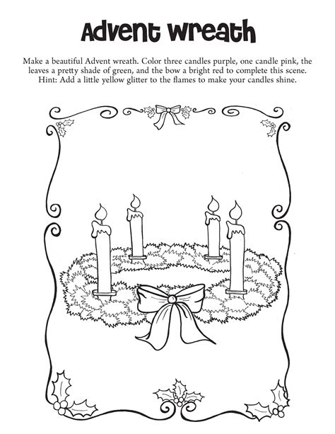 advent wreath coloring page advent wreath coloring page pages for grig3 org