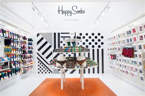 Home Design Store Europe Happy Socks 187 Retail Design