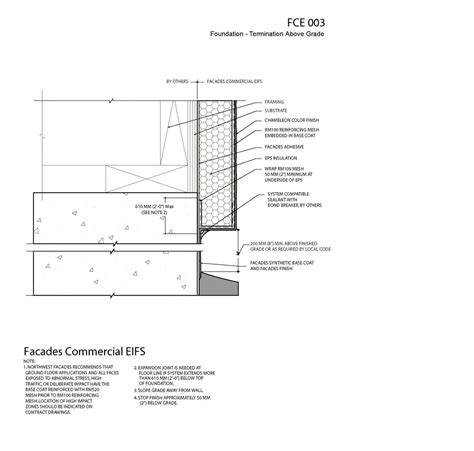 eifs wall section eifs system eifs details eifs specifications