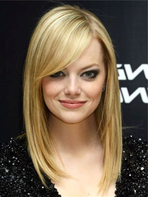 modern hairstyles for medium length hair medium blonde hairstyles with side bangs hairstyles