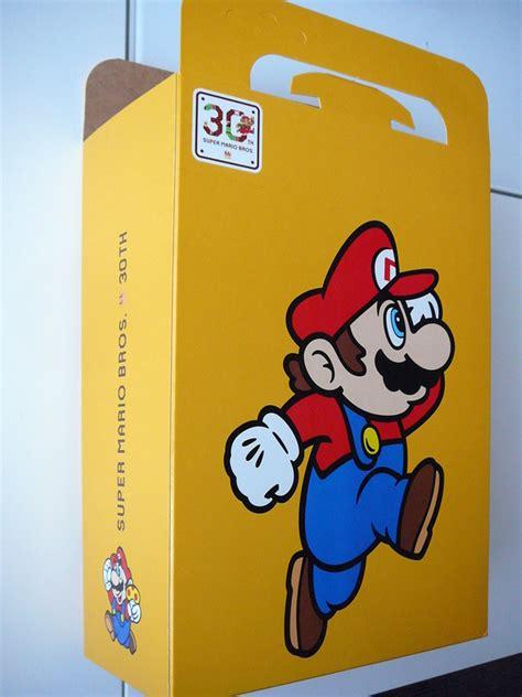 Mario Bros 30 goodies promotionnels 30th anniversary mario bros