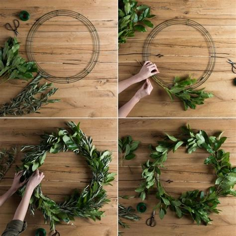 wreath diy 25 best ideas about homemade wreaths on pinterest fall burlap wreaths for front door door