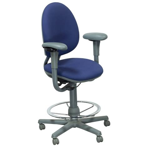 Steelcase Stools by Steelcase Used Criterion Stool Blue National Office