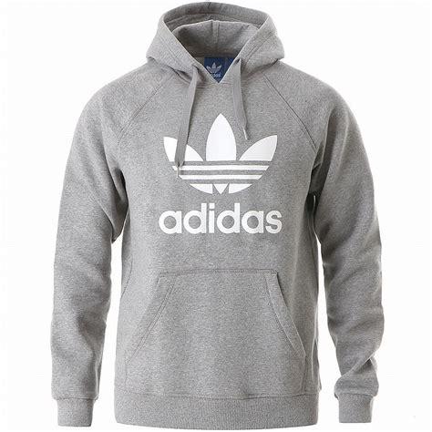 Hoodie Jumper Steam 1 adidas originals 3foil hoody grey white trefoil hoodie sweatshirt jumper new ebay