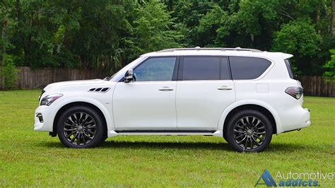 2016 infiniti qx80 2016 infiniti qx80 awd limited review test drive the