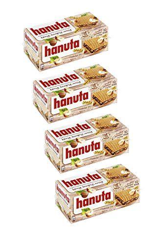 Ferrero Hanuta Box ferrero hanuta wafers filled with hazelnut 4 packs