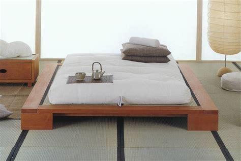 da letto giapponese letto giapponese mong li vivere zen