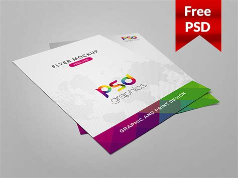 mockup templates free 40 free high quality flyer psd mockups and templates