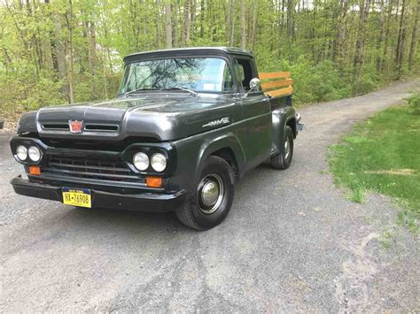 Ford F100 For Sale by 1960 Ford F100 For Sale Classiccars Cc 994911