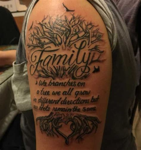 family tree tattoo for men best 25 family tattoos for ideas on