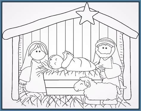 dibujos de navidad para colorear del nacimiento de jesus imagenes del pesebre del ni 241 o jesus para colorear archivos
