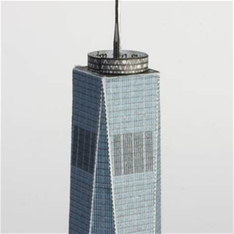 How To Make A Tower With One Of Paper - build your own new york one world trade center