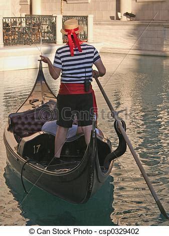gondola boat driver gondolero venecia vegas las foto de archivo buscar