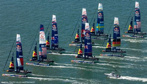 legend boats ont l 233 quipe fran 231 aise pour la red bull youth america s cup